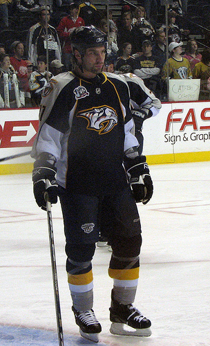 David Legwand, Nashville Predators